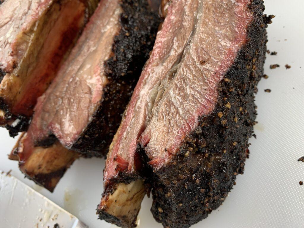 Smoked beef ribs
