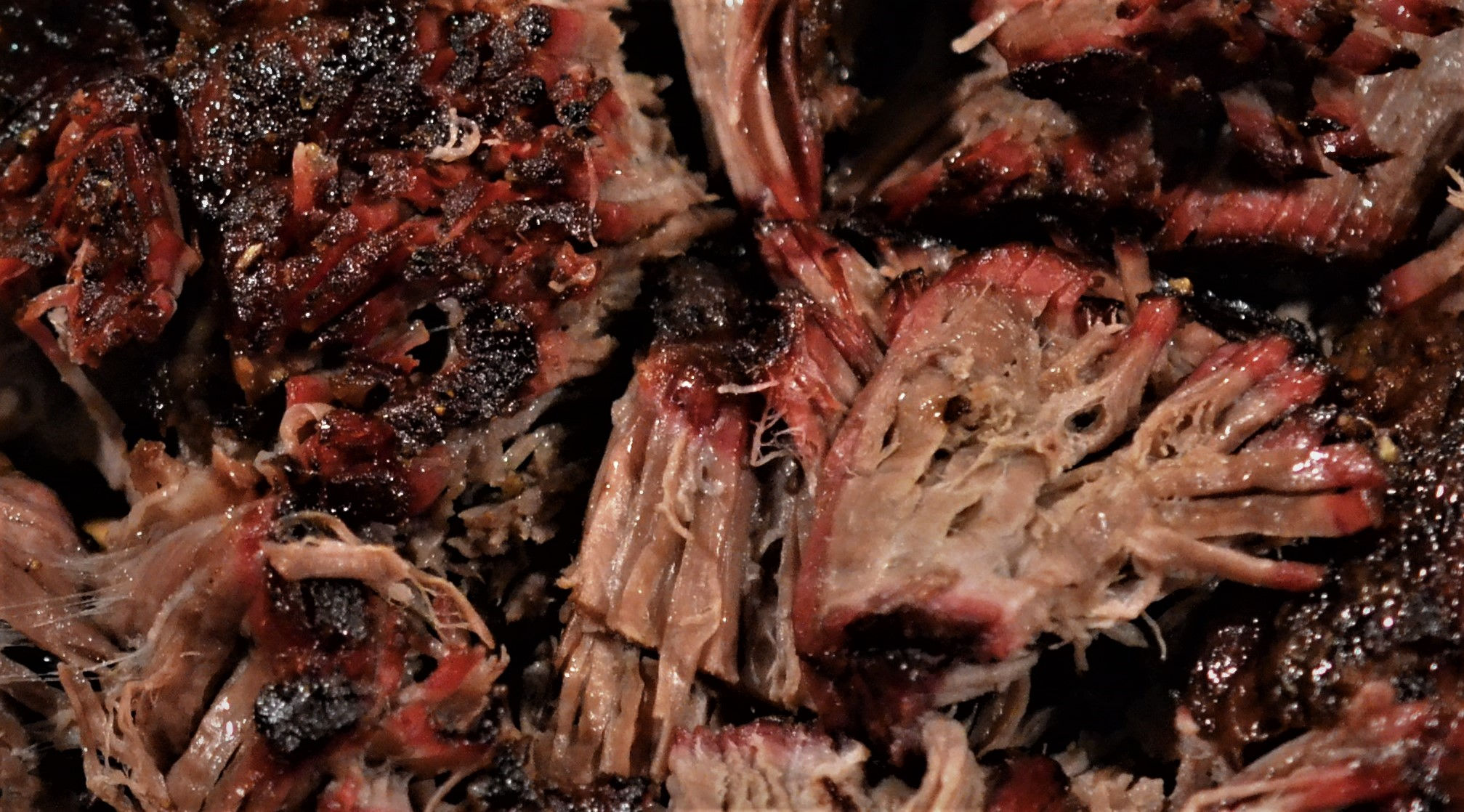 Smoked pulled beef