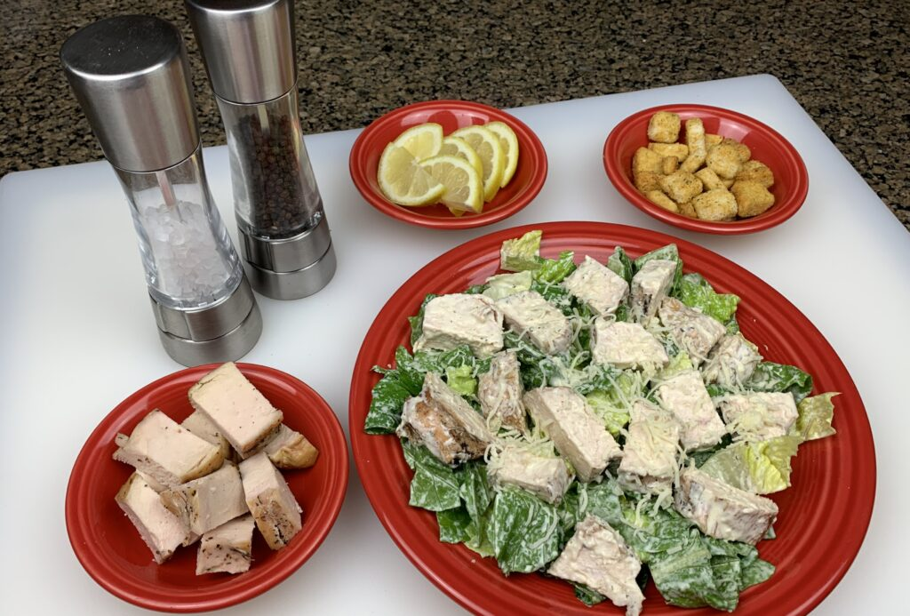 Chicken Caesar Salad Ingredients
