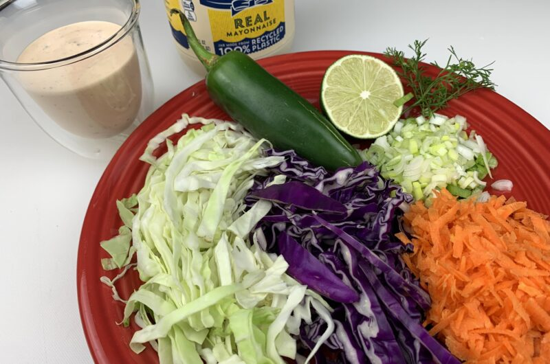 Spicy Southwest Chipotle Coleslaw