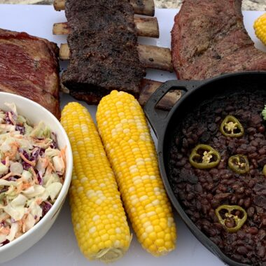 side dishes with smoked meat