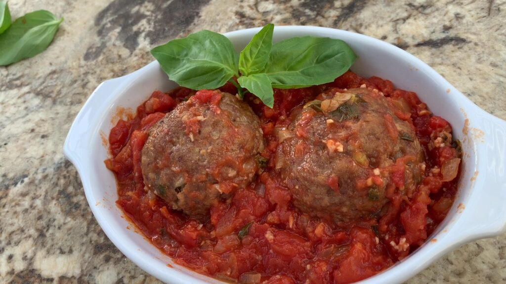 Meatballs Marinara Sauce