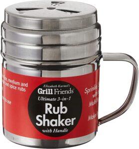 stainless shaker for seasonings