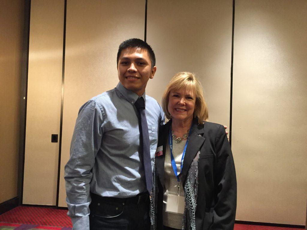 EMCC student, Ricardo Camacho, presents nationally on The Risk of Sorrow