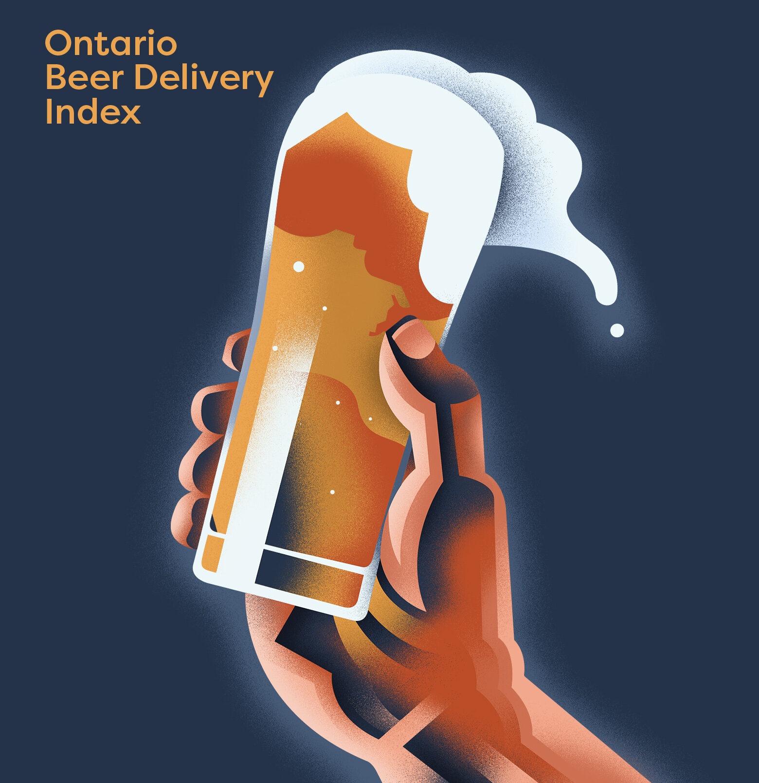 Ontario Beer Delivery Index_Illustration by Dave Murray