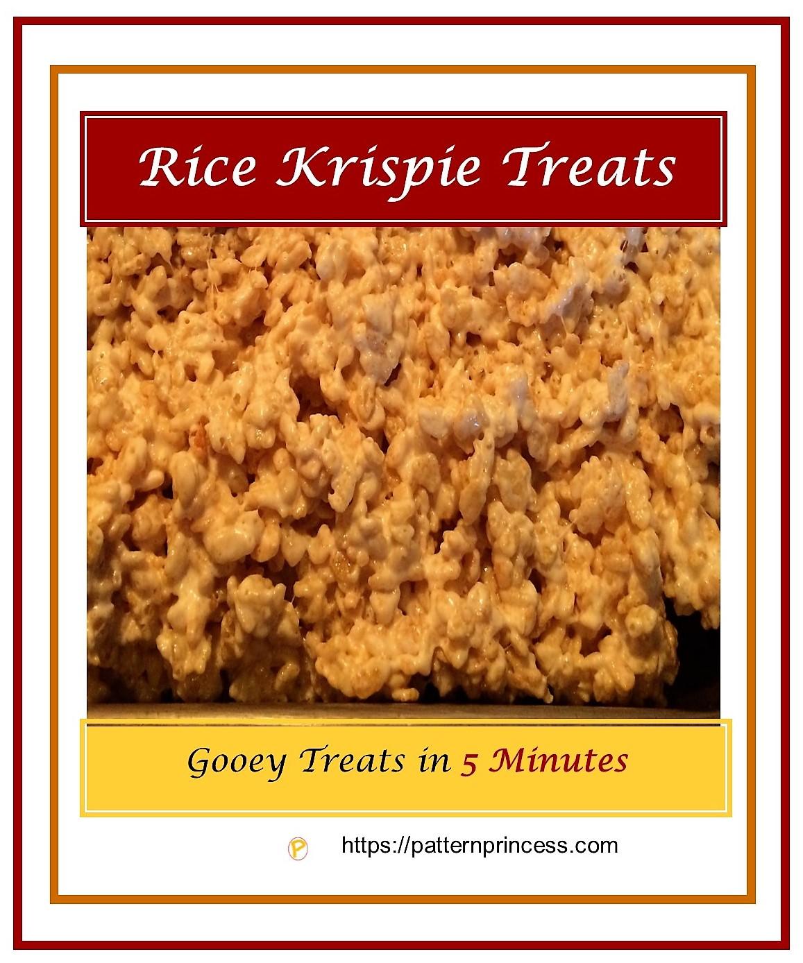 Rice Krispie Treats 1