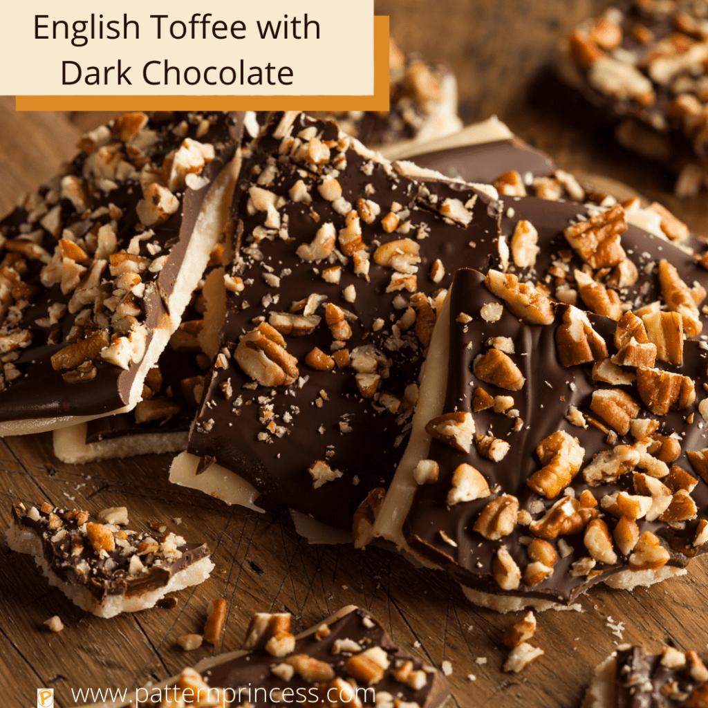 English Toffee with Dark Chocolate