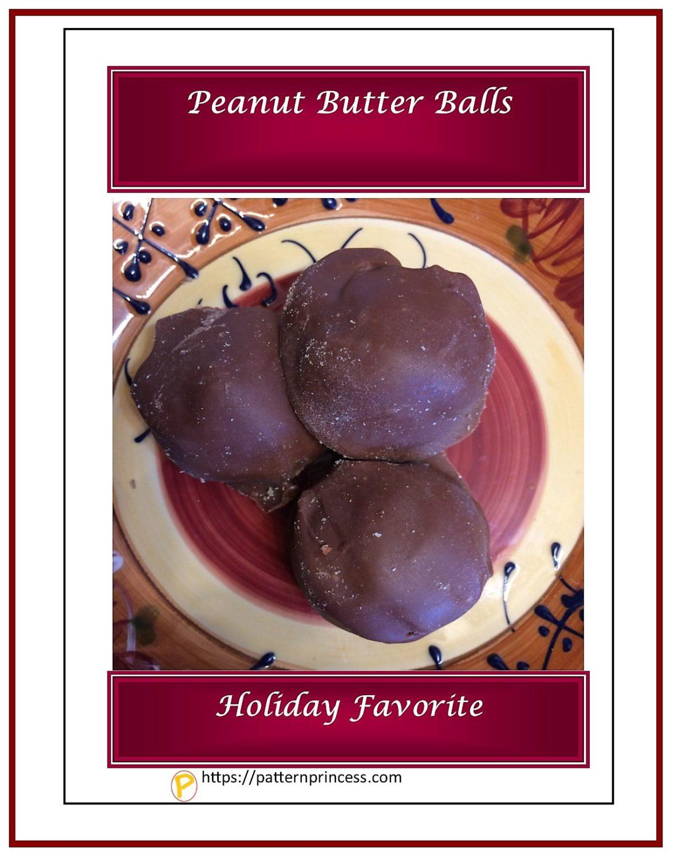 Quick Peanut Butter Balls 1