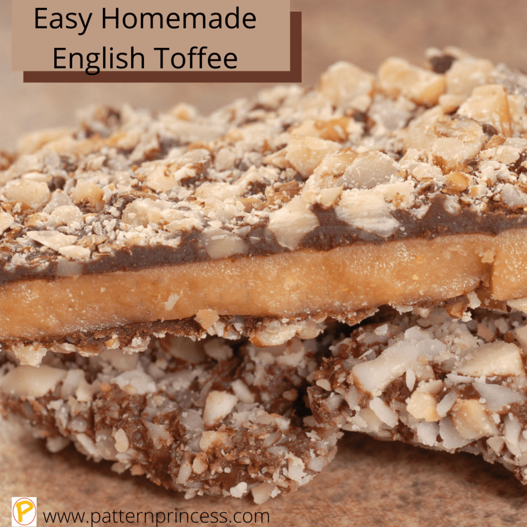 Easy Homemade English Toffee