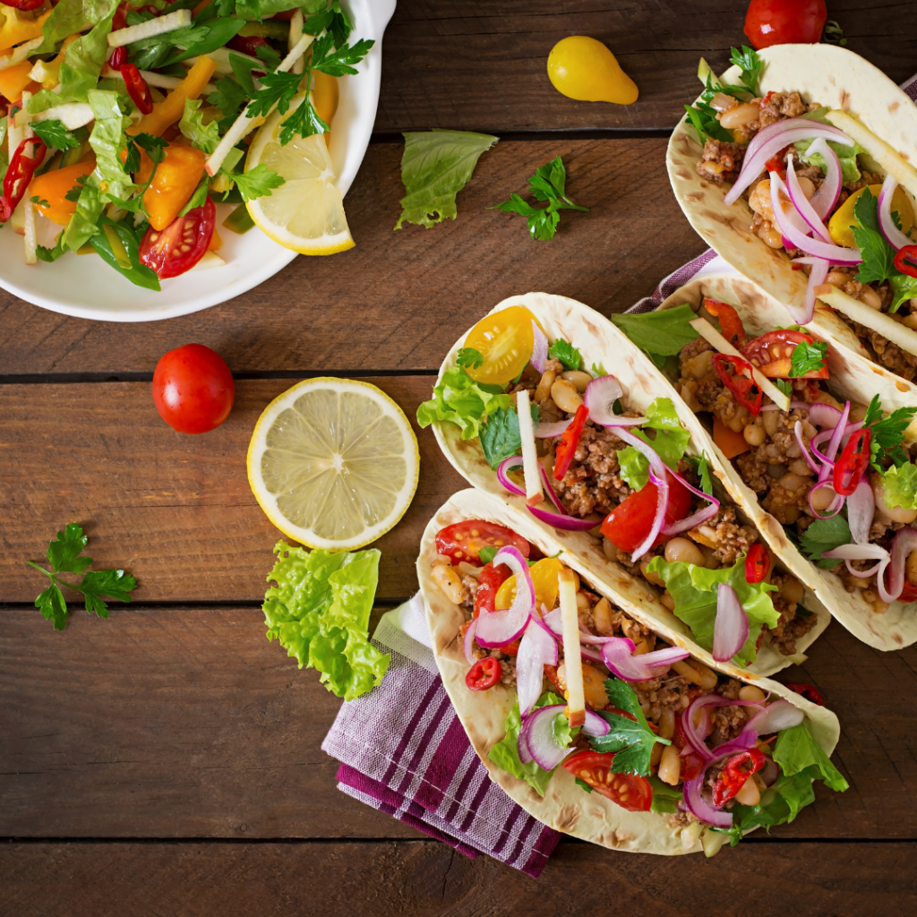 Soft Shell Ground Beef Tacos