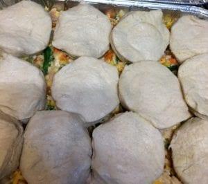Biscuits for Chicken Pot Pie Recipe