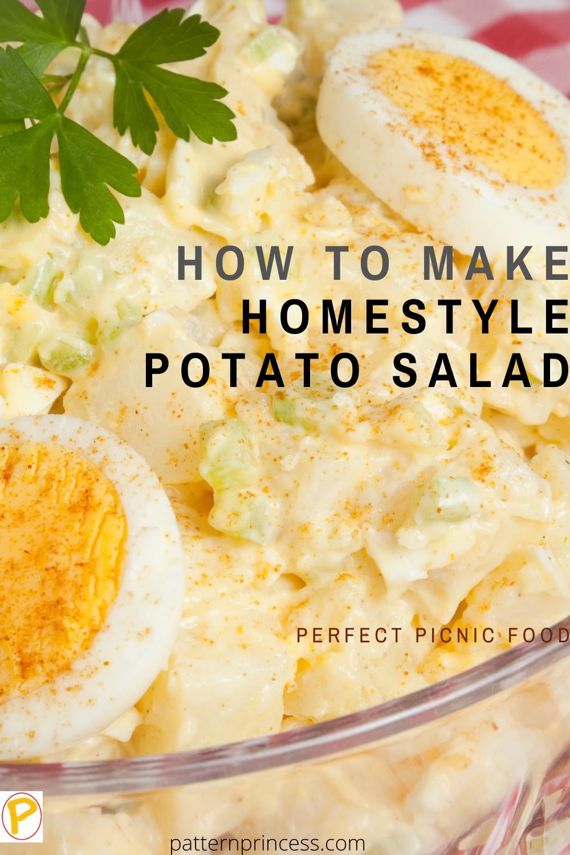 How to Make Homestyle Potato Salad