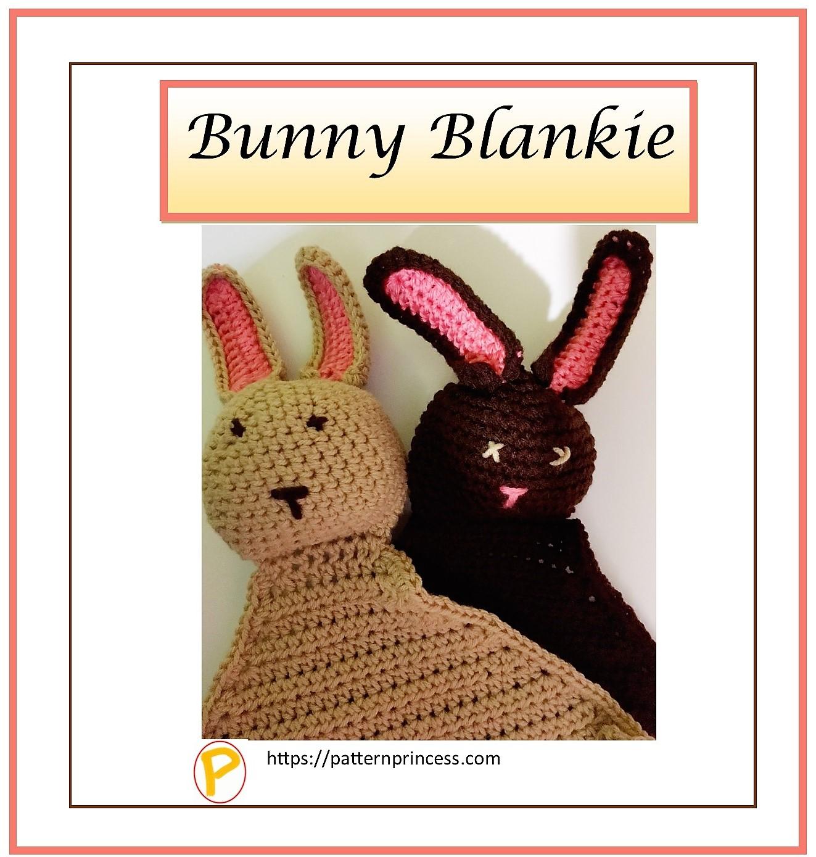 Crochet Bunny Blankie Pattern