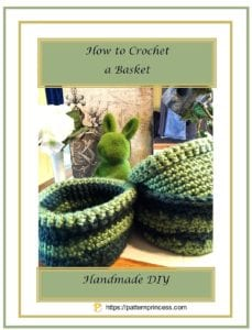 How to Crochet a Simple Basket 1