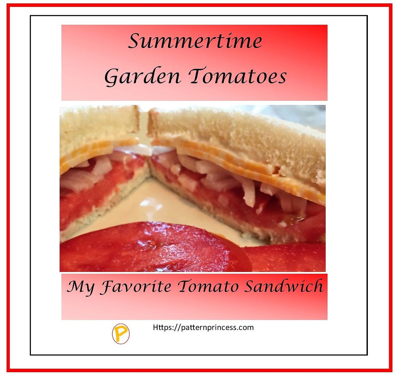 Favorite Tomato Sandwich