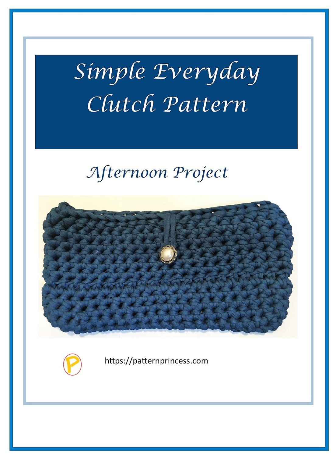 Simple Everyday Clutch Pattern