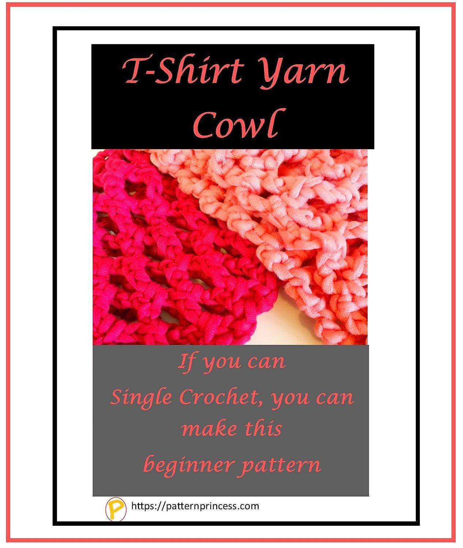 T-Shirt Yarn Cowl 1