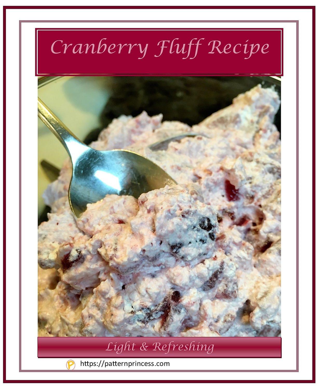 Cranberry Fluff Recipe 1