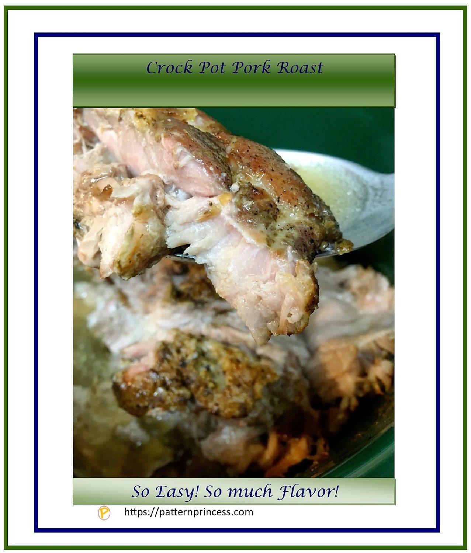 Crock Pot Pork Roast 1