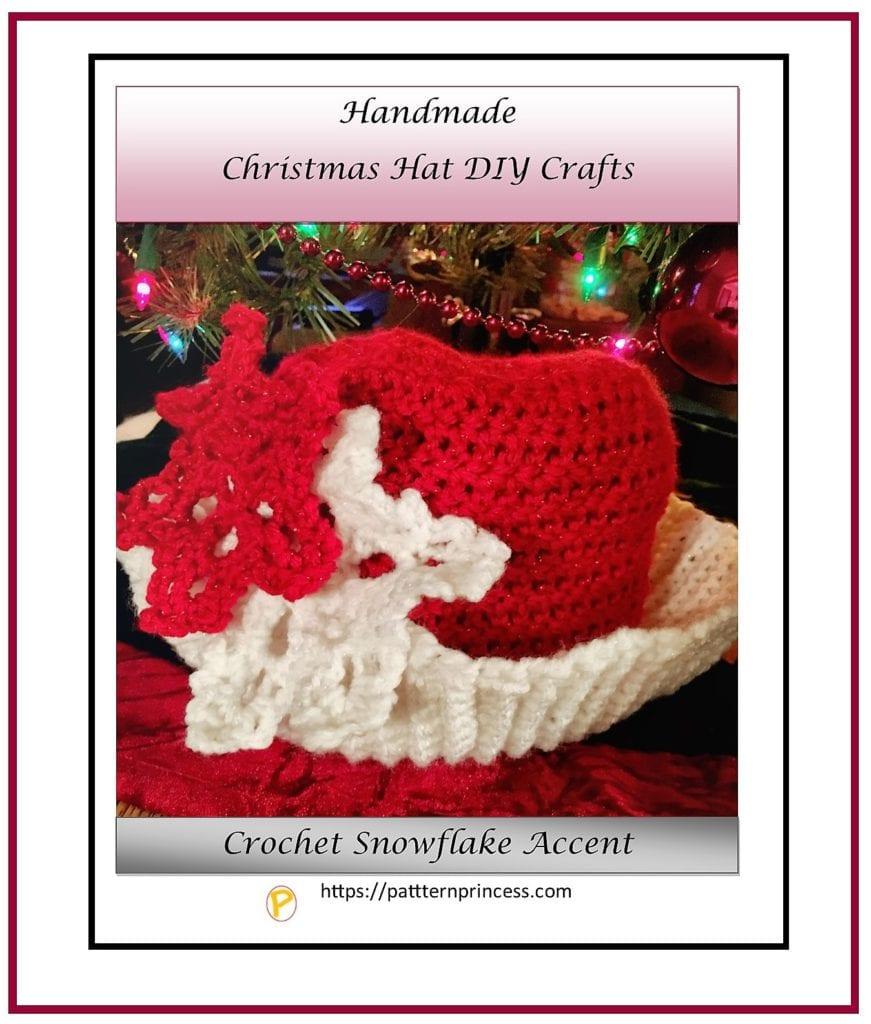 Handmade Christmas Hat DIY Crafts