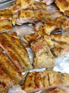 cooked ribs without sauce