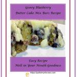 Gooey Blueberry Butter Cake Mix Bars Recipe 1