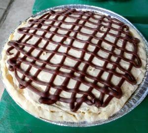 Chocolate on Peanut Butter Pie