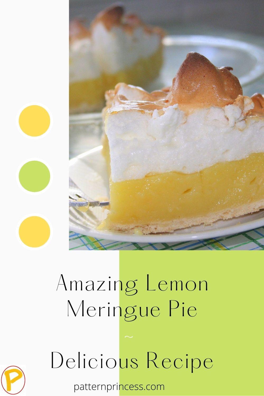 Amazing Lemon Meringue Pie _ Delicious Recipe