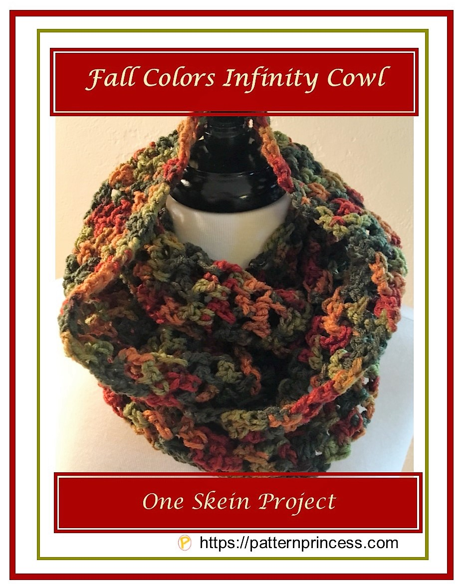 Fall Colors Infinity Cowl 1