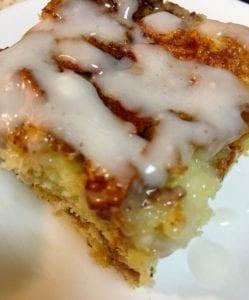 Apple Coffeecake with Icing Glaze