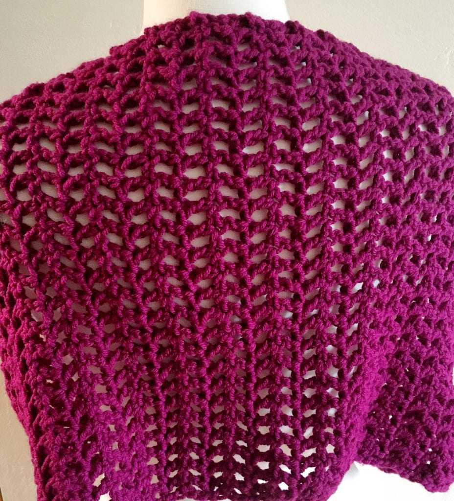 Back View of Cowl