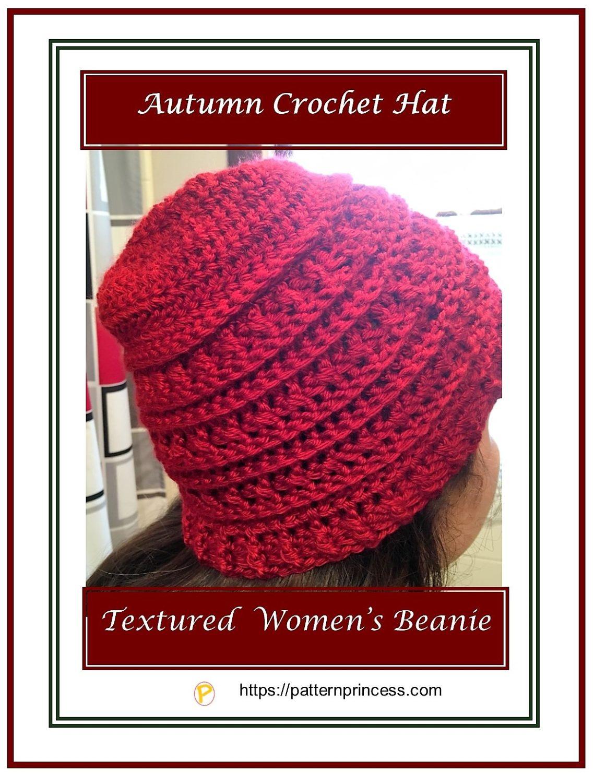 Autumn Crochet Hat 1