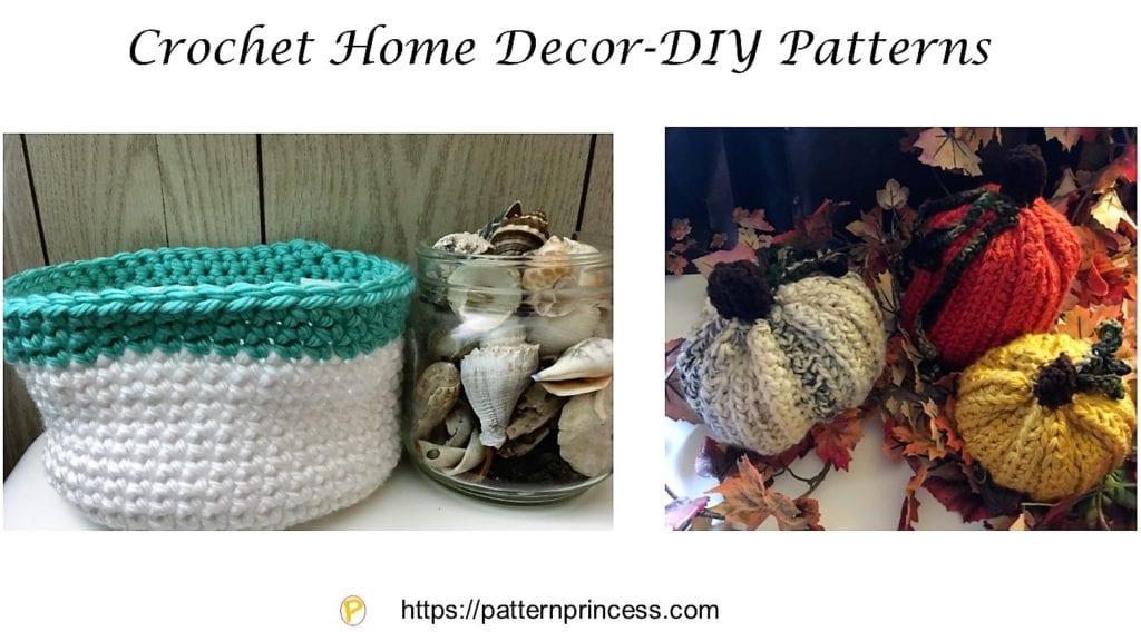 Crochet Home Decor-DIY Patterns