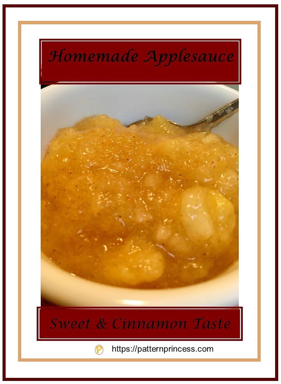 Homemade Applesauce 1