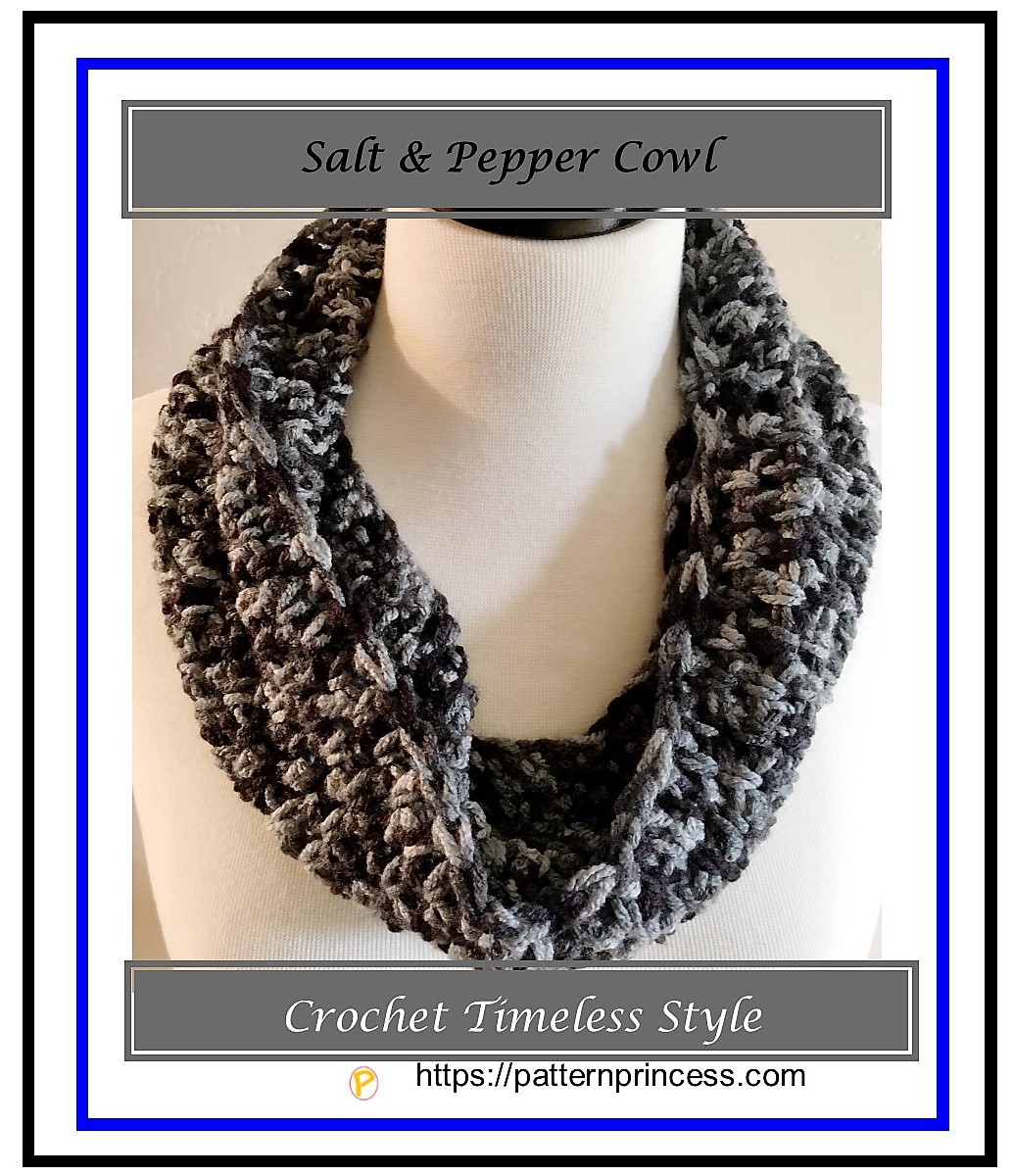 Salt and Pepper Cowl 1
