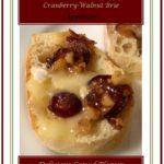 Warm Cranberry Walnut Brie Appetizer 1