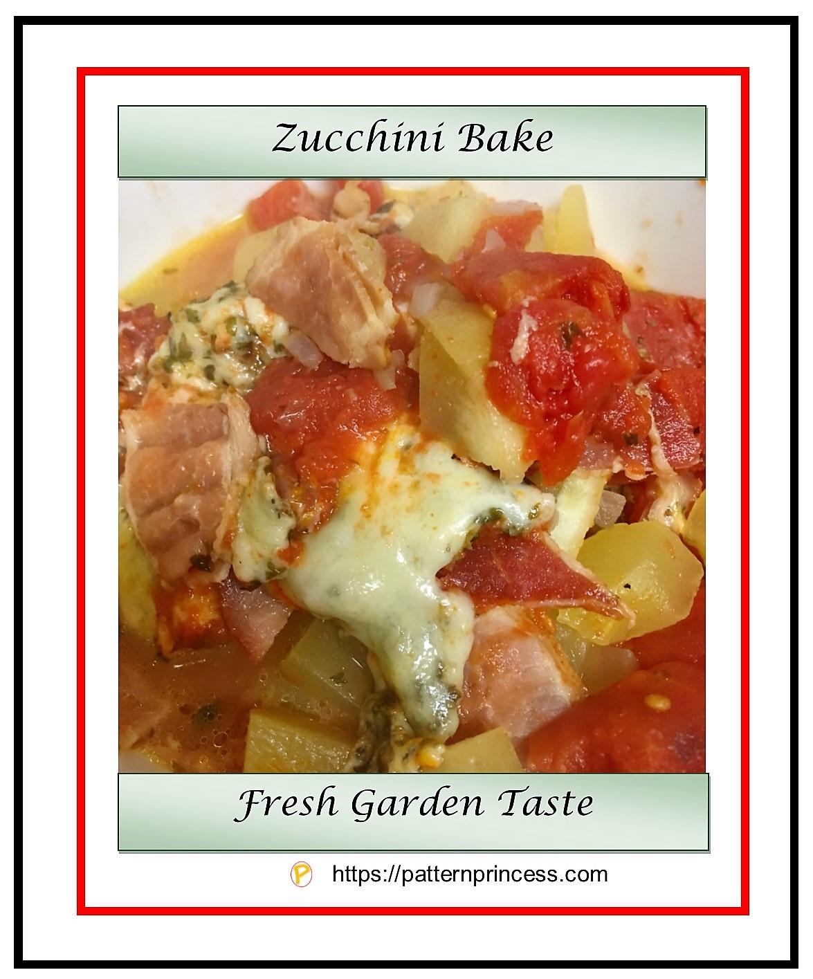Zucchini Bake 1