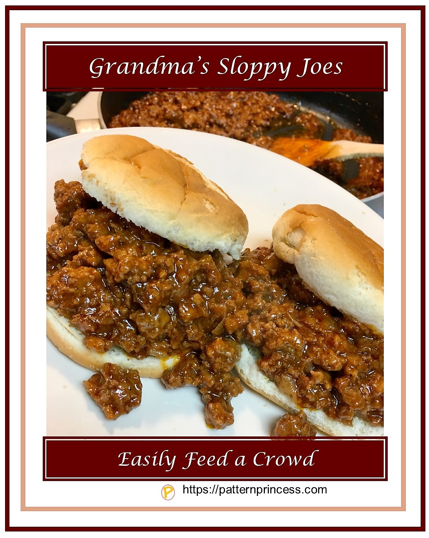 Grandma's Sloppy Joes 1
