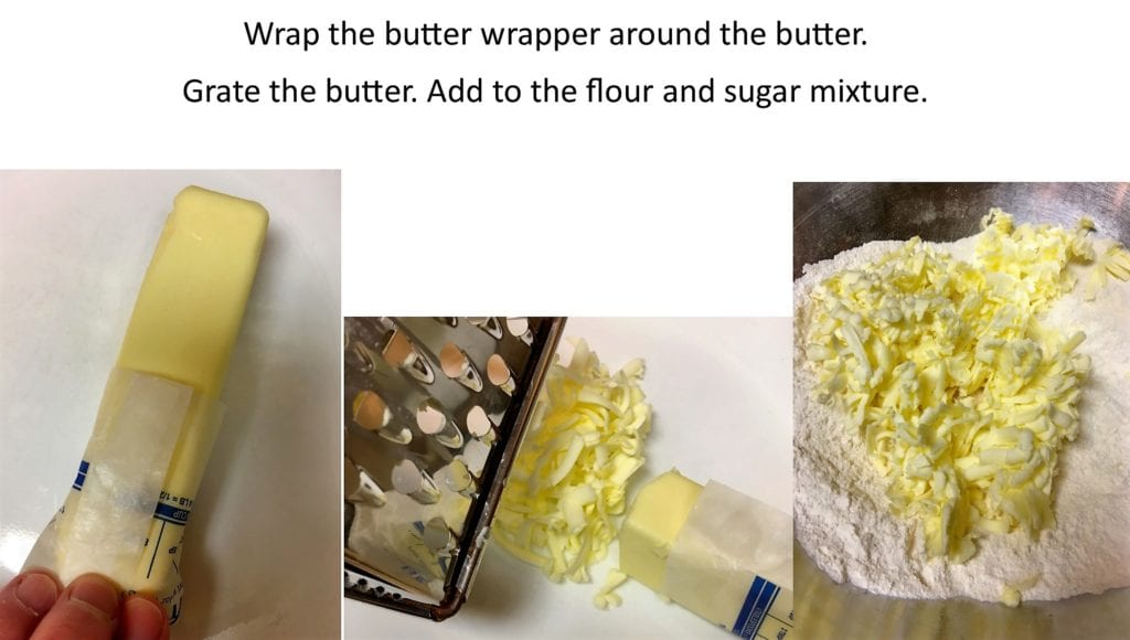 Grating Butter Tips