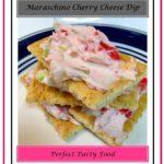 Maraschino Cherry Cheese Dip