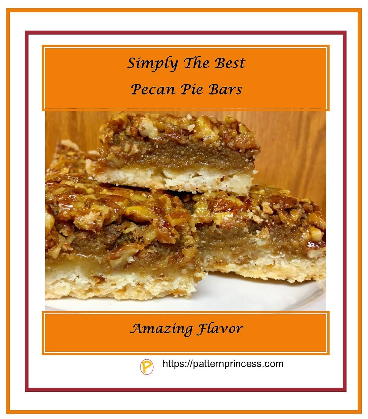 Simply The Best Pecan Pie Bars 1