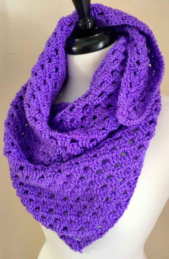 Triangle Shawl with out Fringe