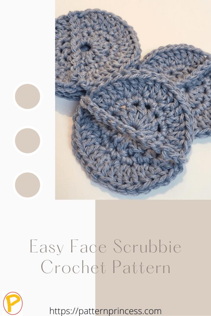 Easy Face Scrubbie Crochet Pattern