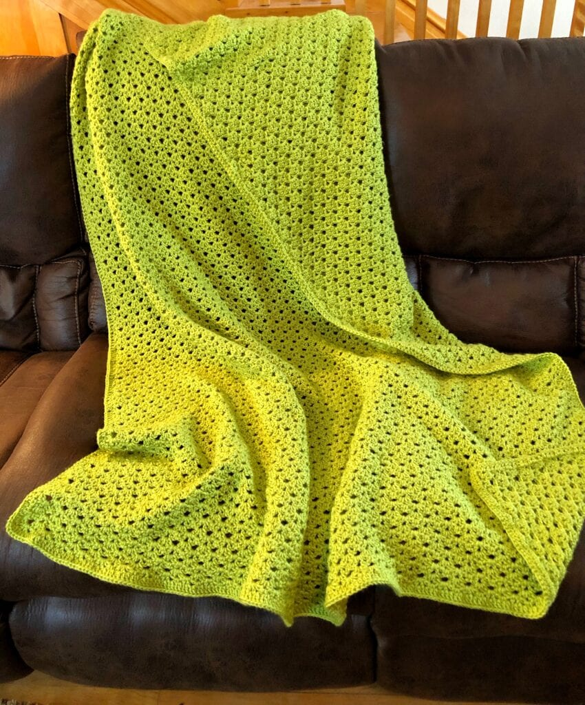 Springtime Soft Shells Crochet Blanket Pattern