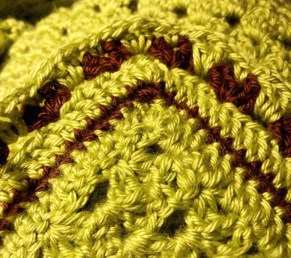 Crochet Edge of the Glorious Springtime Blanket