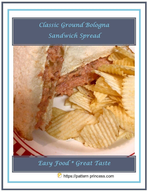 Classic Ground Bologna Sandwich Spread 1