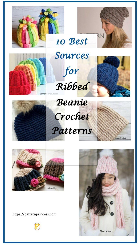 Ribbed Beanie Hat