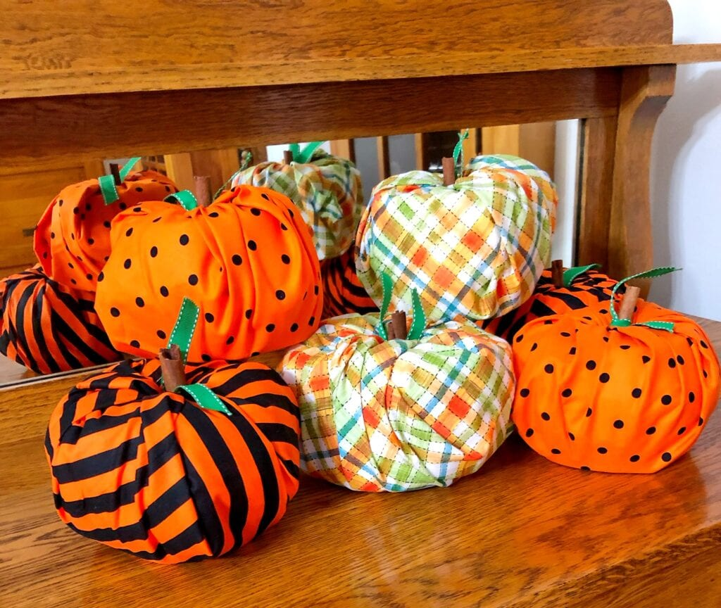 Toilet Paper Pumpkins DIY