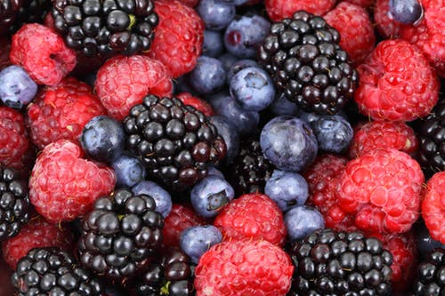 Blueberries and Berries