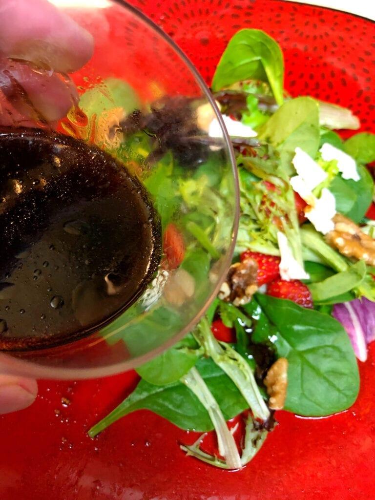 4 Ingredient Balsamic Vinaigrette